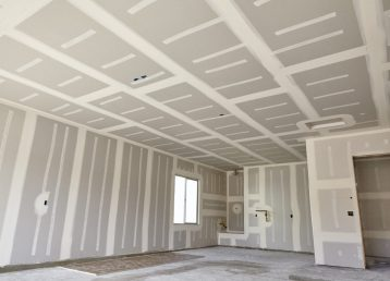 Construction building industry drywall taping compound finishing