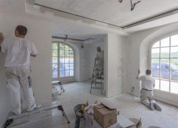 Peintres en bâtiment